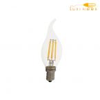 لامپ فیلامنتی 6 وات FEC پایه E14