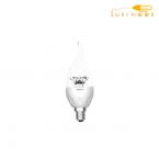 لامپ ال ای دی اشکی شفاف 6 وات افق پایه E14