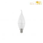 لامپ ال ای دی اشکی مات 6 وات افق پایه E14