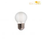 لامپ فیلامنتی مات  4 وات شعاع کد G45-F -پایهE27