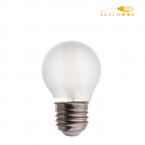 لامپ فیلامنتی مات 4 وات شعاع کد G45-C