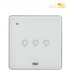 کلید WIFI سه پل FEC کد SW03