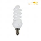 لامپ کم مصرف اسپیرال 11 وات پایه E14 افراتاب کد  11FSP-PTC