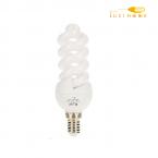 لامپ کم مصرف12وات، پایه E14 افراتاب کد اسپیرال 12FSP-PTC
