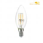 لامپ فیلامنتی شمعی 4 وات افراتاب کد AF-CF