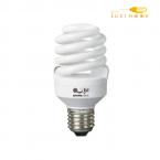 لامپ کم مصرف 15 وات پایه E27 افراتاب کد 15FSP-T2-PTC