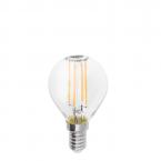 لامپ فیلامنتی شفاف 4 وات شعاع کد G45-F- پایه E14