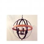 لوستر شاخهای-E27-کد P814/6
