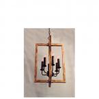 لوستر شاخهای-E27-کد P822/6