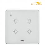 کلید WIFI چهار پل FEC کد SW04